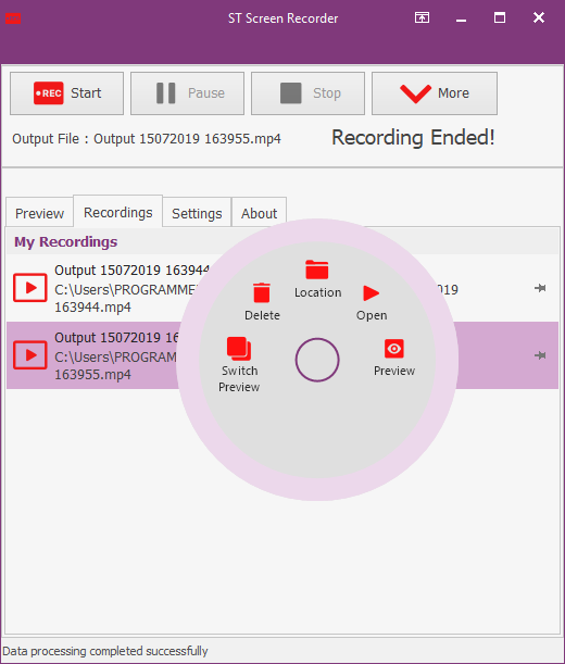 ST Screen Recorder BETA